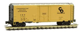 Micro-Trains 40 PD Box C&O #7795 - Z-Scale
