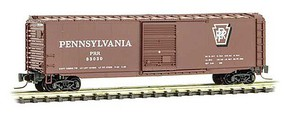Micro-Trains 50 Box PRR #83030 - Z-Scale
