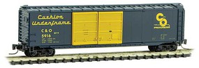 Micro-Trains 50' Std Box C&O #5916 Z-Scale