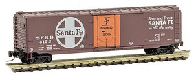 Micro-Trains 50 PD Box ATSF #6172 - Z-Scale