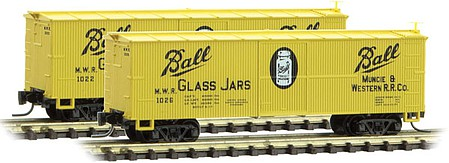 Micro-Trains 40 Wood Box Ball #1026 - Z-Scale