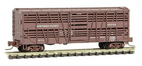 Micro-Trains 40 Despatch Stock Car - Ready to Run Northern Pacific #81760 (Boxcar Red) - Z-Scale