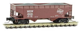 Micro-Trains 33 2-Bay Hopp MILW 96432 - Z-Scale
