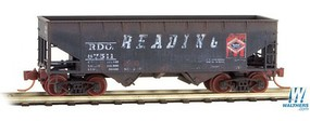 Micro-Trains 33 2 Bay Hopp RDG Wthrd - N-Scale