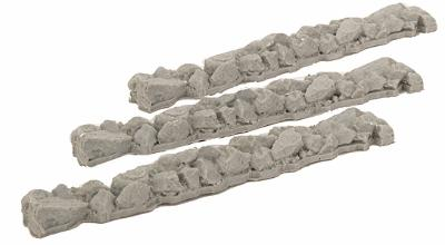 Micro Trains Line Stone Loads - Fits 50' Gondolas pkg(3) -- Z Scale Model Train Freight Car Load -- #79943911