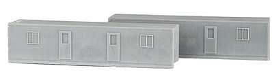 Micro Trains Line Army Containerized Housing Unit Resin Kit (2) -- Z Scale Model Train Freight Car Load -- #79943941