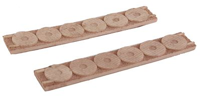 Micro Trains Line Cable Spool Load 4-Pack - Fits 50' Gondola -- Z Scale Model Train Freight Car Load -- #79943951