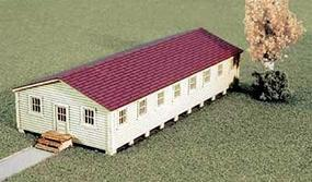 Micro-Trains Military Barracks Kit Z Scale Model Railroad Building #79990913