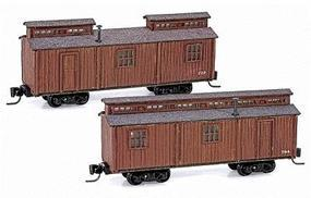 Micro-Trains Office Car/Dining Car Set Kit - Undecorated Z Scale Model Train Passenger Car #79990917