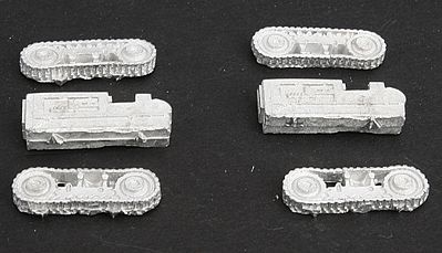 Micro Trains Line Logging Bulldozer Kit Unpainted (Small) Set #2 pkg(2) -- Z Scale Model Railroad Vehicle -- #79991902