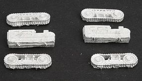 Micro-Trains Logging Bulldozer Kit Unpainted (Small) Set #2 pkg(2) Z Scale Model Railroad Vehicle #79991902