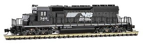 Micro-Trains SD40-2 DC NS #3416 - Z-Scale