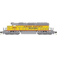 Micro-Trains SD40-2 DC UP #3654 - Z-Scale