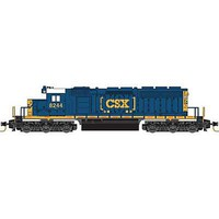 Micro-Trains SD40-2 DC CSX #8244 - Z-Scale