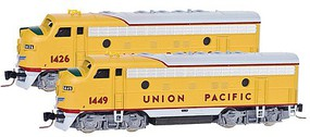 Micro-Trains EMD F7A - Standard DC Union Pacific #1449 (Armour Yellow, gray, red) - N-Scale