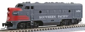 Micro-Trains EMD F7A Southern Pacific #6392 (gray, red) Z Scale Model Train Diesel Locomotive #98001170
