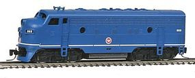 Micro-Trains EMD F7A Missouri Pacific #883 Z Scale Model Train Diesel Locomotive #98001260