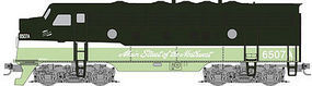 Micro-Trains EMD F7A Northern Pacific #6507A Z Scale Model Train Diesel Locomotive #98001351