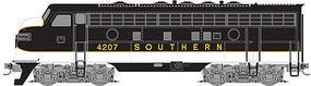 Micro-Trains F7A Unit Powered Southern #4207 Z Scale Model Train Diesel Locomotive #98001371