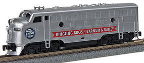 Micro-Trains F7A Ringling Bros Circus #1881 Z Scale Model Train Diesel Locomotive #98001525