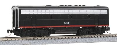 Micro Trains Line EMD F7B - Standard DC - Southern Pacific #8219 -- Z Scale Model Train Diesel Locomotive -- #98002040