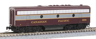 Micro Trains Line EMD F7B Canadian Pacific #1900 -- Z Scale Model Train Diesel Locomotive -- #98002120
