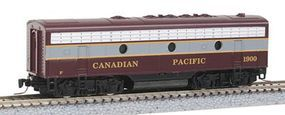 Micro-Trains EMD F7B Canadian Pacific #1900 Z Scale Model Train Diesel Locomotive #98002120