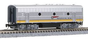 Micro-Trains EMD F7B Santa Fe #345B Z Scale Model Train Diesel Locomotive #98002280