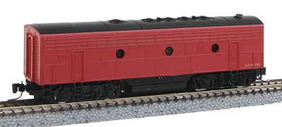 Micro Trains Line EMD F7B Kansas City Southern #73B -- Z Scale Model Train Diesel Locomotive -- #98002310