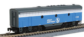 Micro-Trains EMD F7B Powered Great Northern 314B Z Scale Model Train Diesel Locomotive #98002330