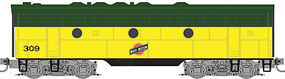 Micro-Trains F7B Powered Chicago & North Western #309 Z Scale Model Train Diesel Locomotive #98002381