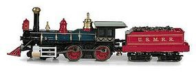 Micro-Trains Civil War Era 4-4-0 U.S. Military Railroad N Scale Model Train Steam Locomotive #98500511