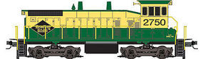 Micro-Trains SW1500 DCC Reading N Scale Model Train Diesel Locomotive #98600062