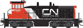 Micro-Trains WC SW1500 Canadian National #1569 N Scale Model Train Diesel Locomotive #98600522