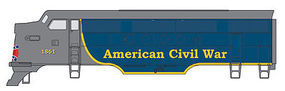 Micro-Trains FT Loco Shell Civil War N Scale Model Train Diesel Locomotive #98721671