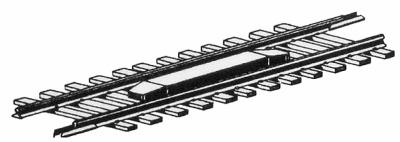 Micro Trains Line Permanent Uncoupler Magnet - Mounted -- N Scale Model Train Coupler -- #98800173