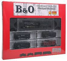 Micro-Trains Baltimore & Ohio Train-Only Set Steam Locomotive N Scale Model Train Set #99301180