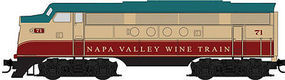 Micro-Trains Napa Valley Wine Train-Ony Set EMD FT Diesel & 4 Heavyweight Cars - N-Scale