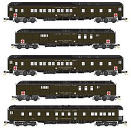 Micro-Trains Army Heavyweight 5/ - N-Scale