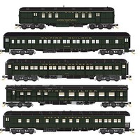 Micro-Trains Hwt Passenger 5-Pack GN - N-Scale