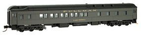 Micro-Trains 5-Car Heavyweight Passenger Set - Ready to Run Pullman (Pullman Green, black) - N-Scale