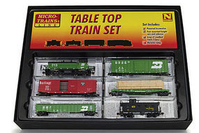 Micro-Trains EMD SW1500 Diesel Freight Train-Only Set BN N Scale Model Train Set #99303320