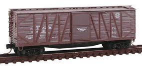 Micro-Trains 40 Single-Sheathed Wood Boxcar Southern Pacific N Scale Model Train Freight Car #99305240