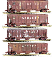 Micro-Trains Weathered Hopper ATSF 4/ - N-Scale