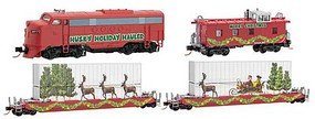Micro-Trains Holiday Hauler Train Set - N-Scale