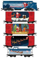 Micro-Trains Santa's Off-The-Rail Set N-Scale