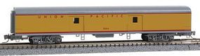 Micro-Trains Smoothside 70 Baggage Car Union Pacific Z Scale Model Train Passenger Car #99400064