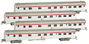 Micro-Trains 83 Sleeper Rnnr Pk SP 4/ - Z-Scale