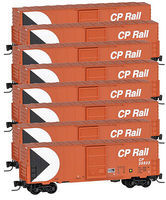 Micro-Trains 40 Single Door Boxcar Canadian Pacific Rail (8) Z Scale Model Train Freight Car #99400807