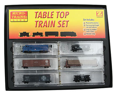 Micro Trains Line Desk Top Trn Set F7 MP - Z-Scale